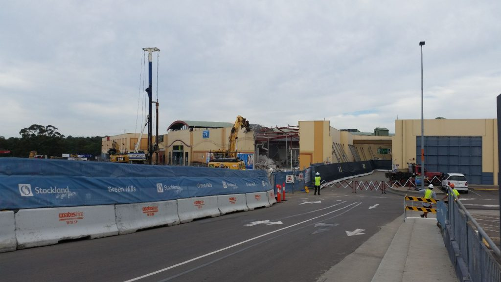 Greenhills Shopping Centre - Fenwick Demolition and Dirt