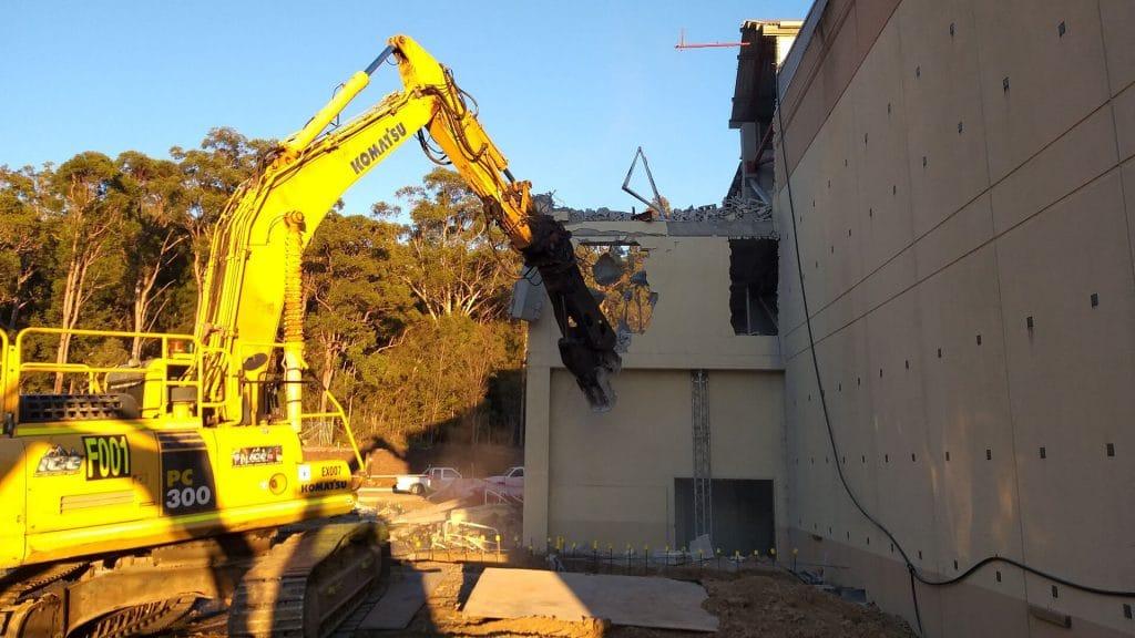 Westfield Tuggerah - Projects - Fenwick Demolition and Dirt